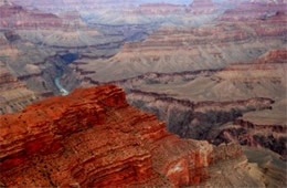 Colorado River from Grand Canyon Rim