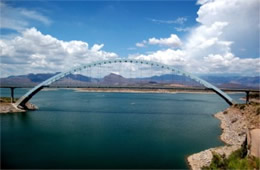Roosevelt Lake Bridge