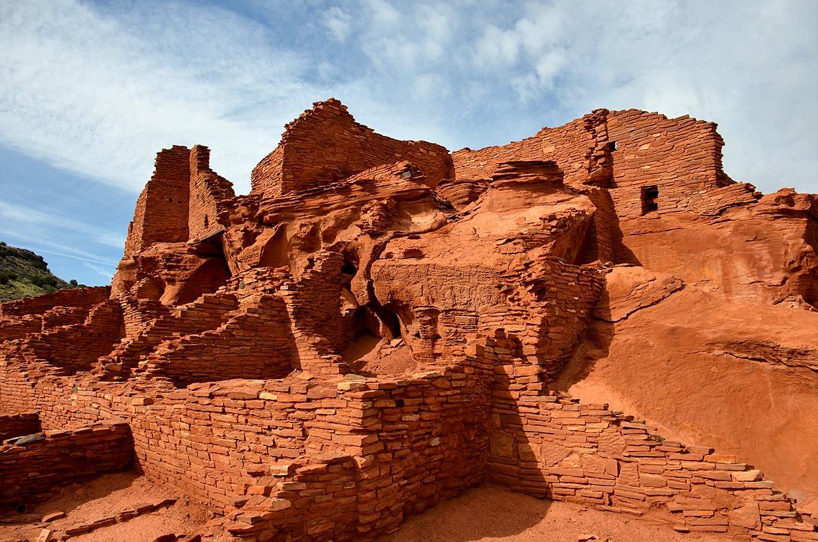 Edupic social studies images main wupatki pueblo native american southwestern dwelling wupatki national monument arizona publicscrutiny Choice Image