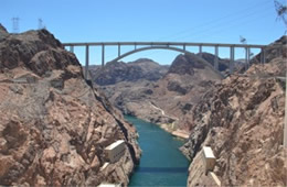 Colorado River at Hoover Dam