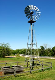 wind driven well pump