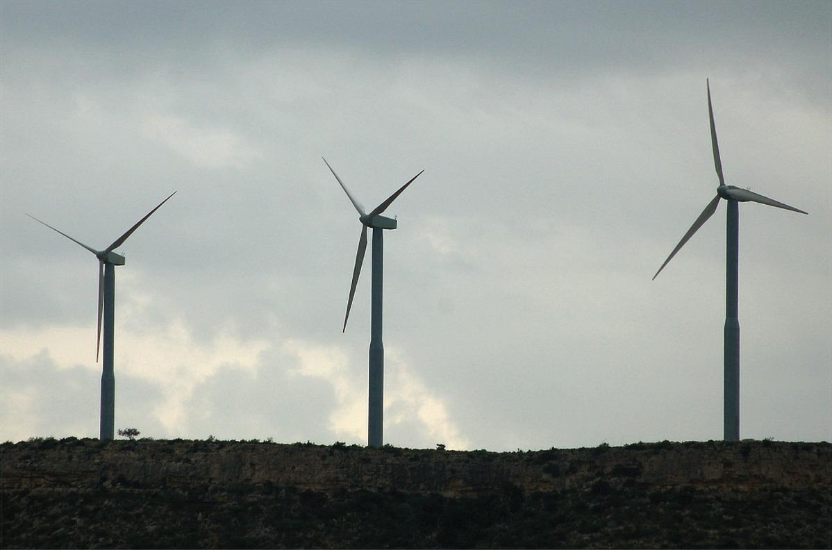wind turbines -