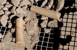 Clay Pipe Stem Artifacts