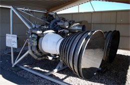 Titan 2 Missile Rocket Engines