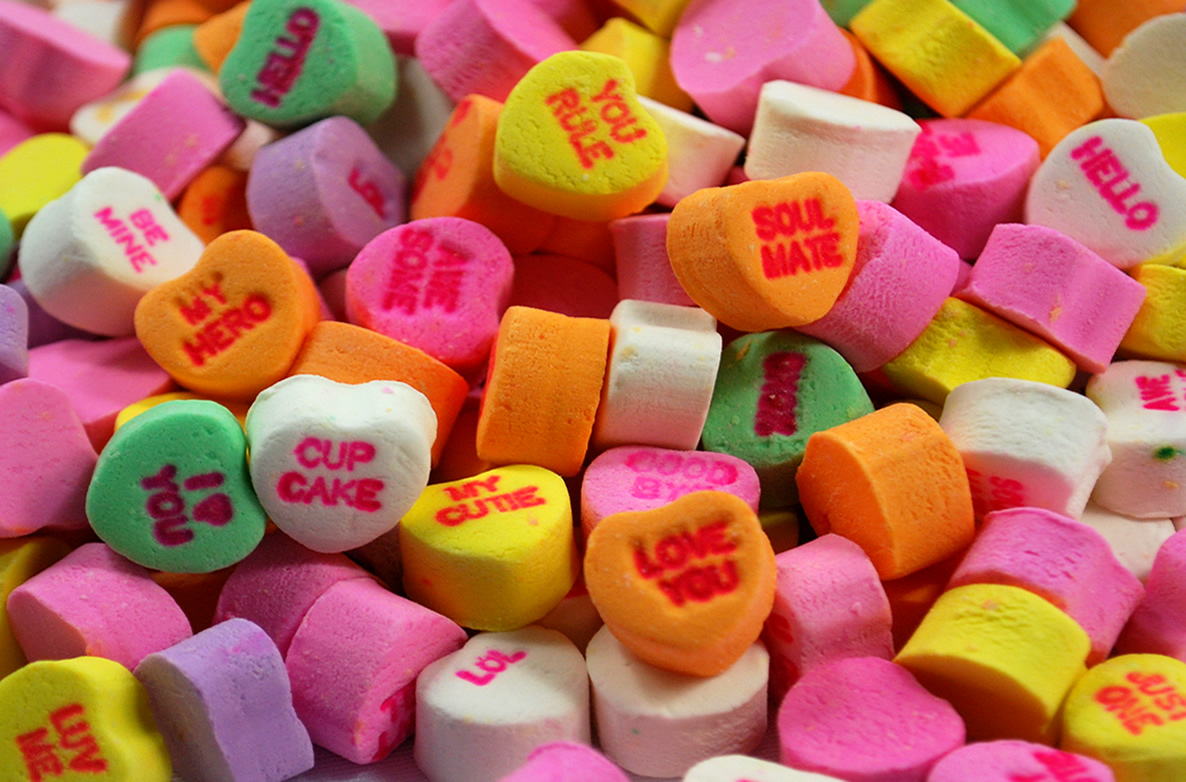 Valentine Candy Hearts Clip Art Conversation candy hearts Valentine Candy Hearts Clip Art