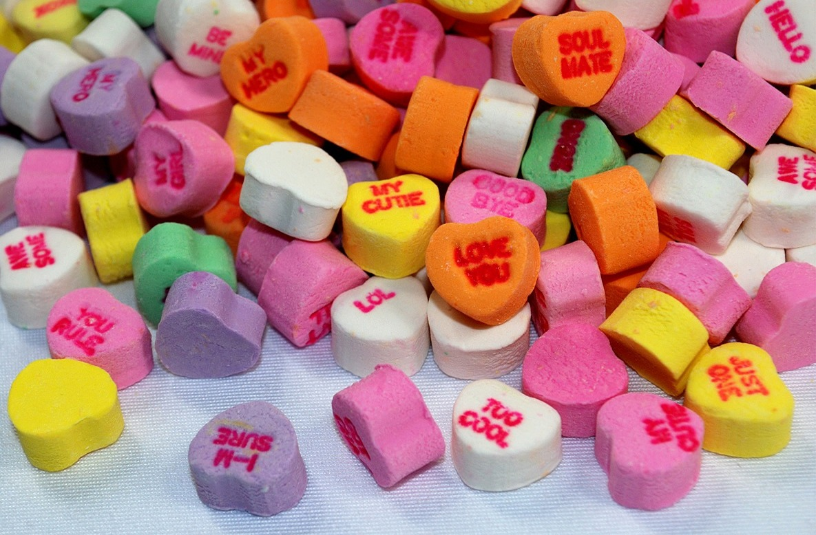 Conversation Candy Hearts, Valentineu0027s Day, Pastel Colors, Pink, Purple,  Green, Yellow, White, Orange, Sugar ...