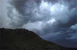 Thunderstorm Clouds at Guadalupe Mountains National Park